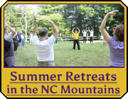 Summer Retreats in the NC Mountains